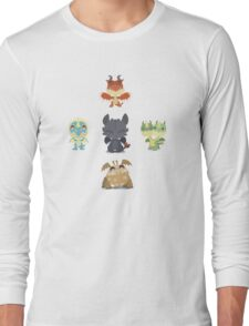 Baby Dragons How To Train Your Dragon 2 Long Sleeve T-Shirt