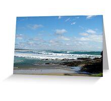 Woolgoolga Beach - NSW Greeting Card