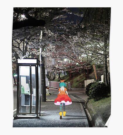 Monogatari – Doll Walk Poster