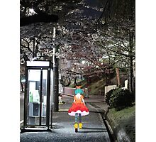 Monogatari – Doll Walk Photographic Print