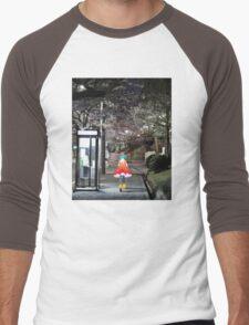 Monogatari – Doll Walk Men's Baseball ¾ T-Shirt