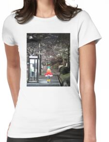 Monogatari – Doll Walk Womens Fitted T-Shirt