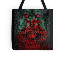 Werewolf shape Tote Bag