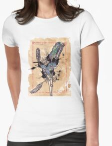 Mice Womens Fitted T-Shirt