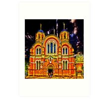 St Volodymyr's Cathedral Art Print