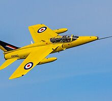 Folland Gnat T.1 XR992/XS102 G-MOUR by Colin Smedley