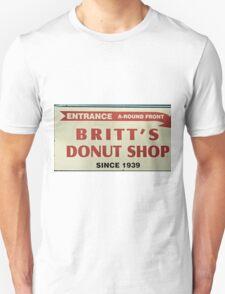 Britts Famous Doughnuts Unisex T-Shirt