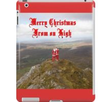 Santa  From on High iPad Case/Skin