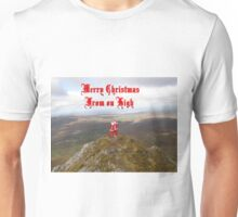 Santa  From on High Unisex T-Shirt