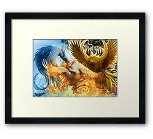 Legendary Bird Trio Framed Print