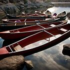 Canoes by rwilks
