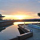 Darwin Sunrise Over The Wharf by matt1973