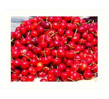 Cherry Goodies Art Print