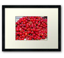 Cherry Goodies Framed Print