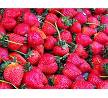 Love Red Berry Photographic Print