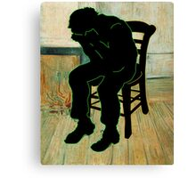 Vincent Van Gogh Modernized Canvas Print