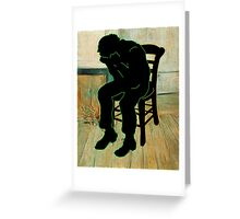 Vincent Van Gogh Modernized Greeting Card