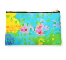 Abstract Watercolor Painting Studio Pouch