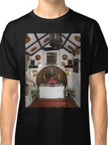 Inside St. Gobban's Church, Portbradden,Co Antrim Coast, Ireland Classic T-Shirt