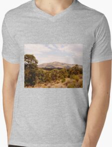 Desert Brush Mens V-Neck T-Shirt