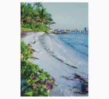 Floral Flowers Beach Florida One Piece - Short Sleeve