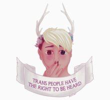Trans People Need to be Heard by dakshinadeer