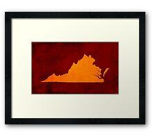 Virginia Pride Framed Print