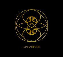 Astrology Symbol For Universe by Vy Solomatenko
