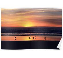 Sunset at Coronado  Poster