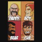 Daddy-Boy-Bear-Cub by MancerBear by mancerbear