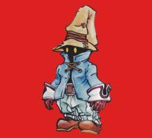 Final Fantasy 9 Vivi in Pastel &Colour Pencil One Piece - Short Sleeve
