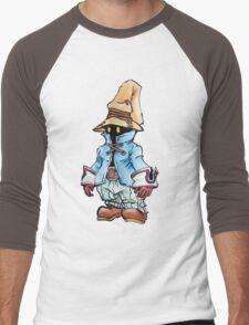 Final Fantasy 9 Vivi in Pastel &Colour Pencil Men's Baseball ¾ T-Shirt