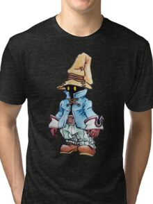 Final Fantasy 9 Vivi in Pastel &Colour Pencil Tri-blend T-Shirt