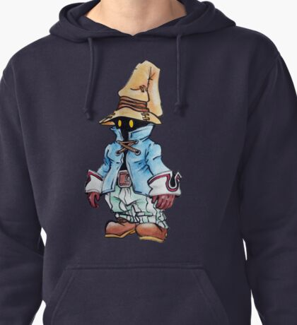 Final Fantasy 9 Vivi in Pastel &Colour Pencil Pullover Hoodie
