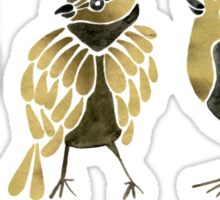 24-Karat Goldfinches Sticker