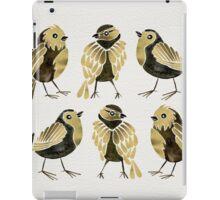 24-Karat Goldfinches iPad Case/Skin