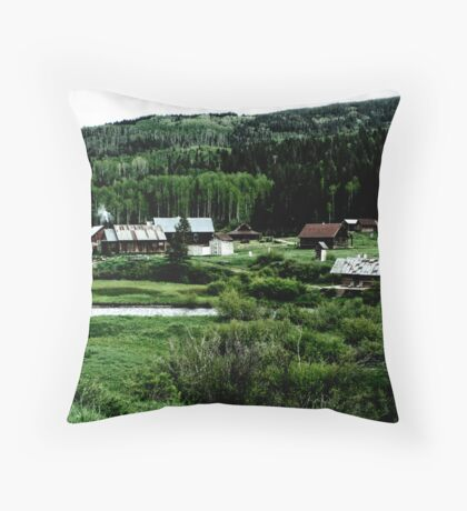 The Past Throw Pillow