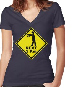 Next 5 km Women's Fitted V-Neck T-Shirt