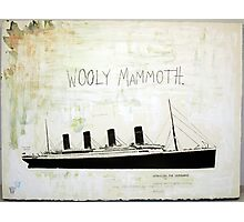 Wooly Mammoth Photographic Print
