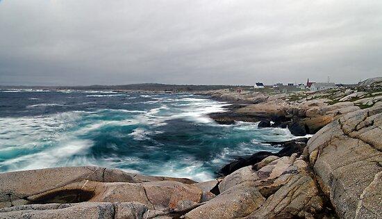 Peggy's Cove, Nova Scotia - Panorama by Stephen Beattie