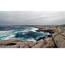 Peggy's Cove, Nova Scotia - Panorama Photographic Print