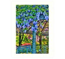 Duke Gardens Study 4 Art Print