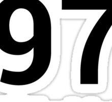 Making history since 1978 Sticker