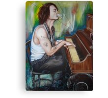 JD Piano Canvas Print