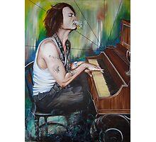 JD Piano Photographic Print