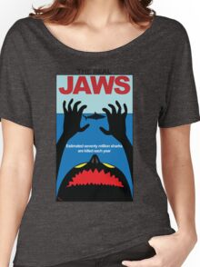 The Real JAWS Women's Relaxed Fit T-Shirt
