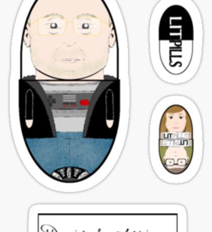 LitPills - David S. Atkinson (Indie Series) Sticker