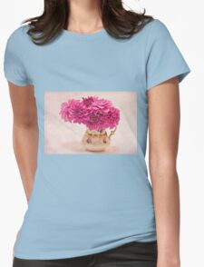 Sweet Blossoms  Womens Fitted T-Shirt