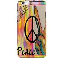 Peace in Every Color iPhone Case/Skin