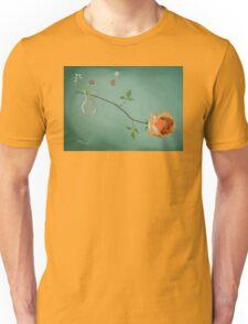 Rose daisies vase Unisex T-Shirt